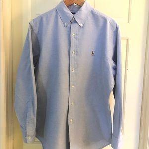 Ralph Lauren classic fit button up. Neck 15 1/2 M